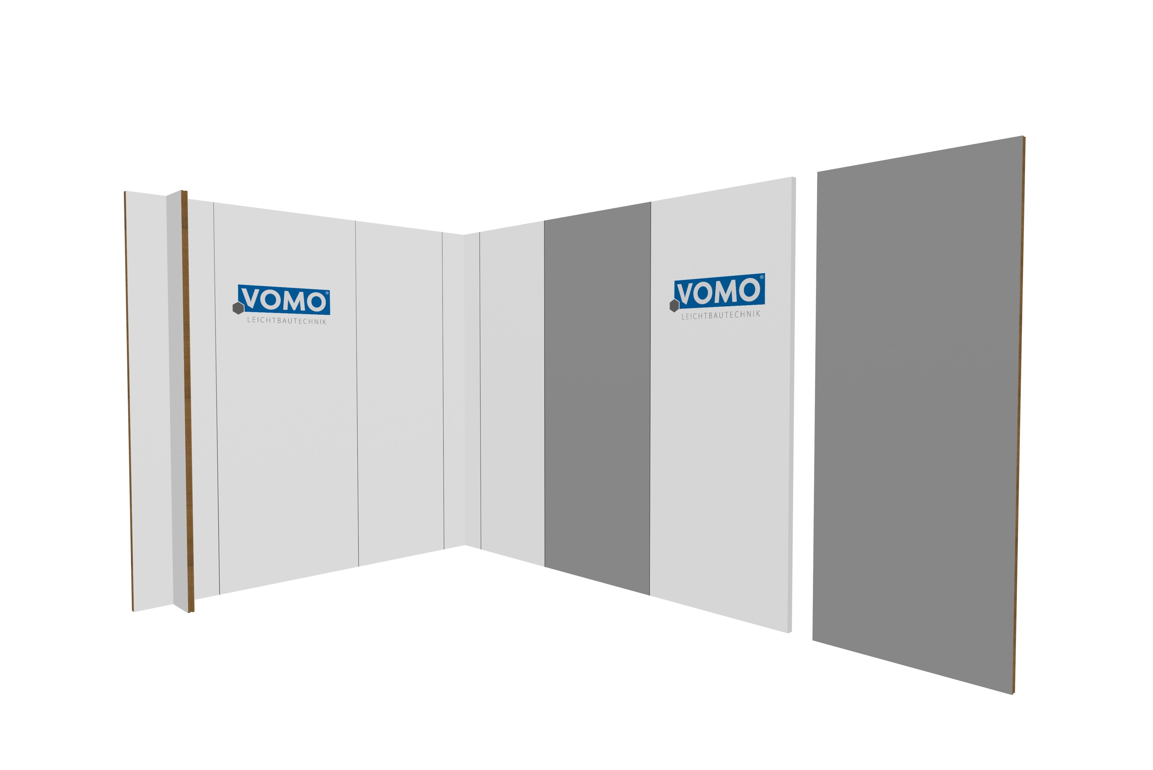 Messe Wandsystem Wandelement 1000mm breit