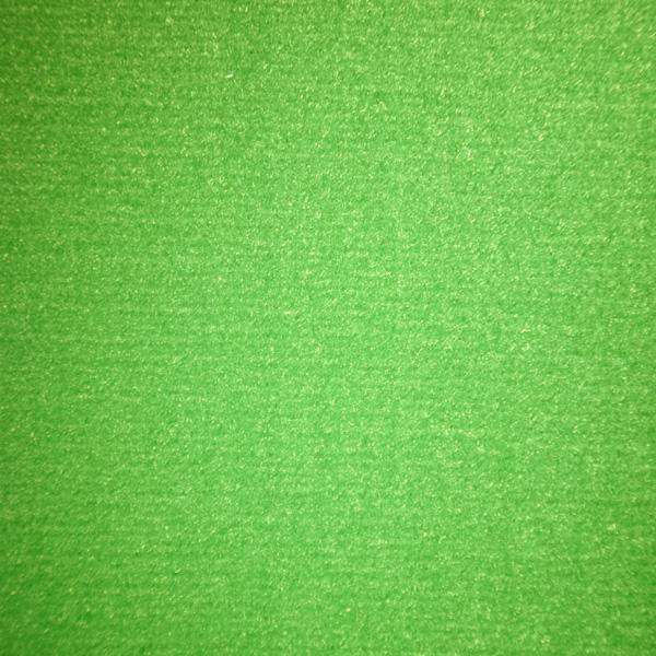 Velours Messeteppich Classic grün