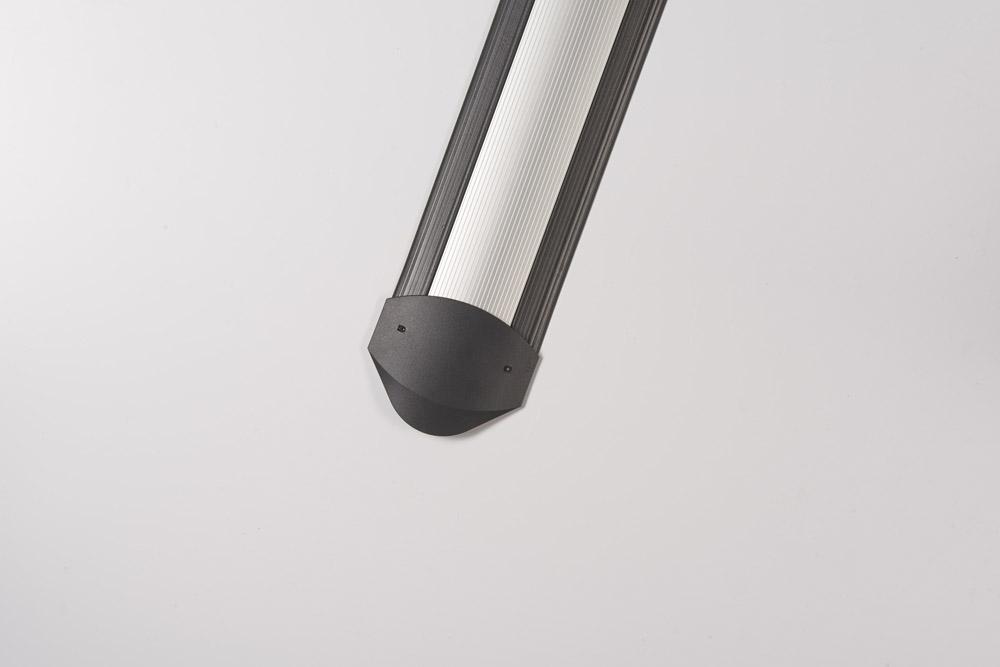 Kabelkanal Indoor 150 cm, EasyLoader Alu