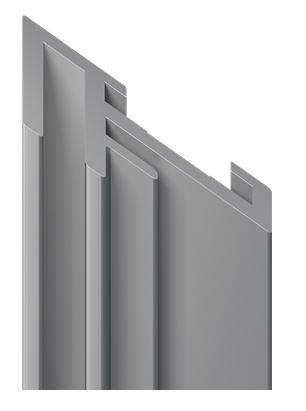 OCTAWALL CUSTOM Spannrahmen-Profil 495mm