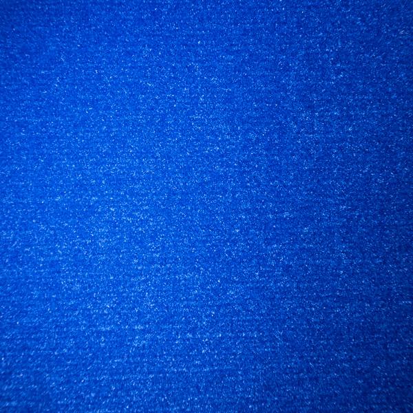 Velours Messeteppich Classic blau