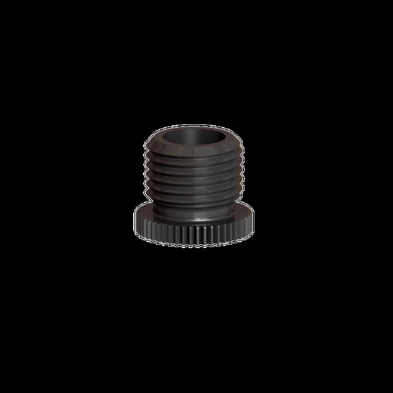 Kappe M10x1, schwarz