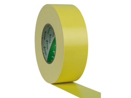 Showtec Gaffa Tape 50 mm, 50 m, Yellow