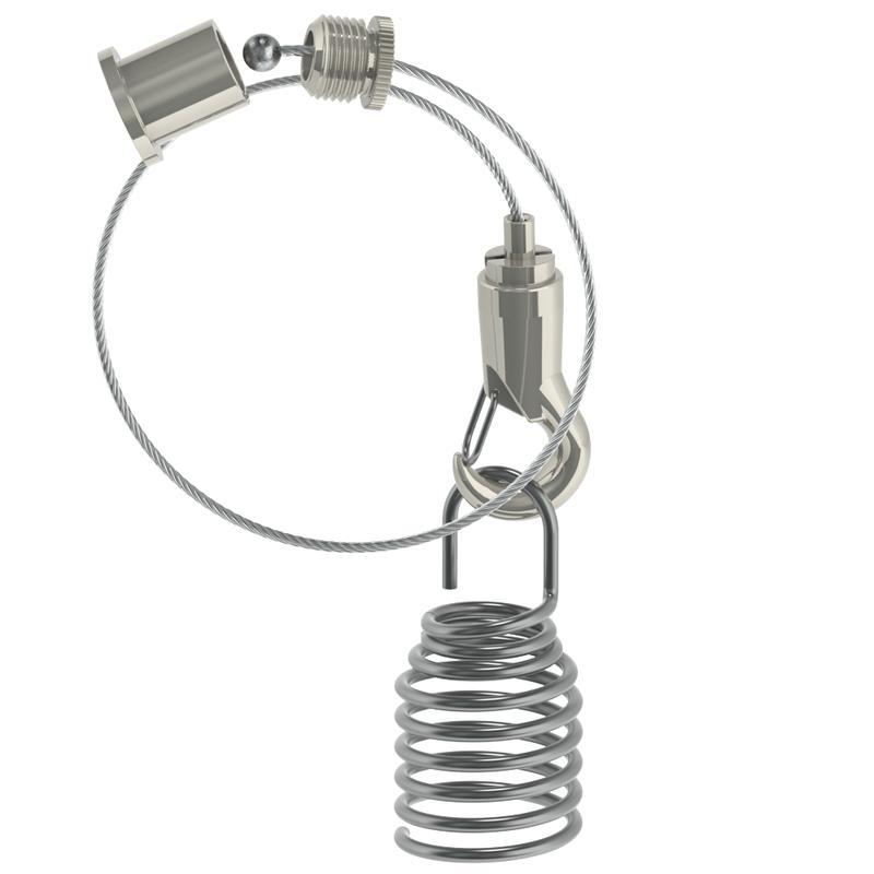 Abhängeset für Akustik/Faserplatten, L=3000mm