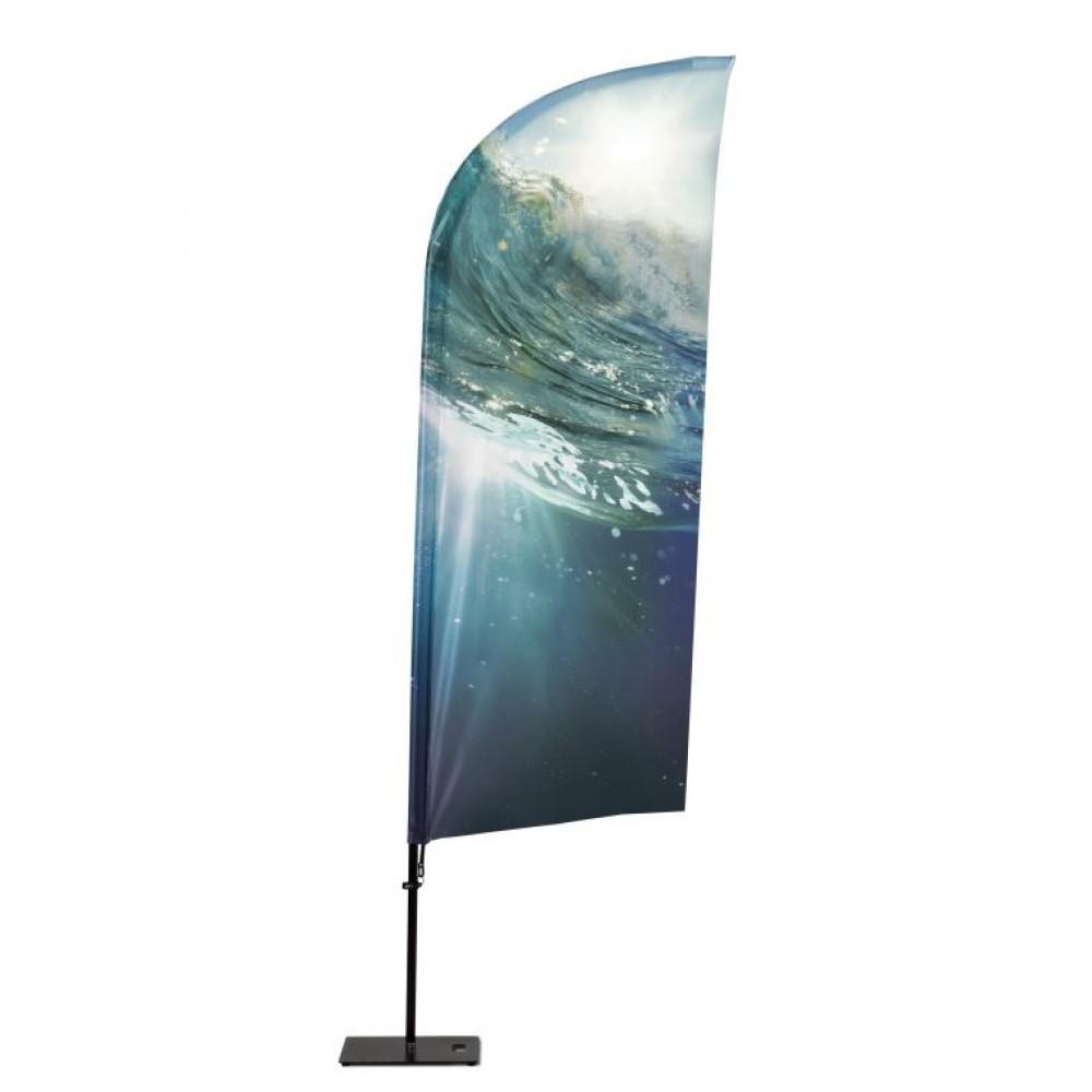Beachflag Alu Wind
