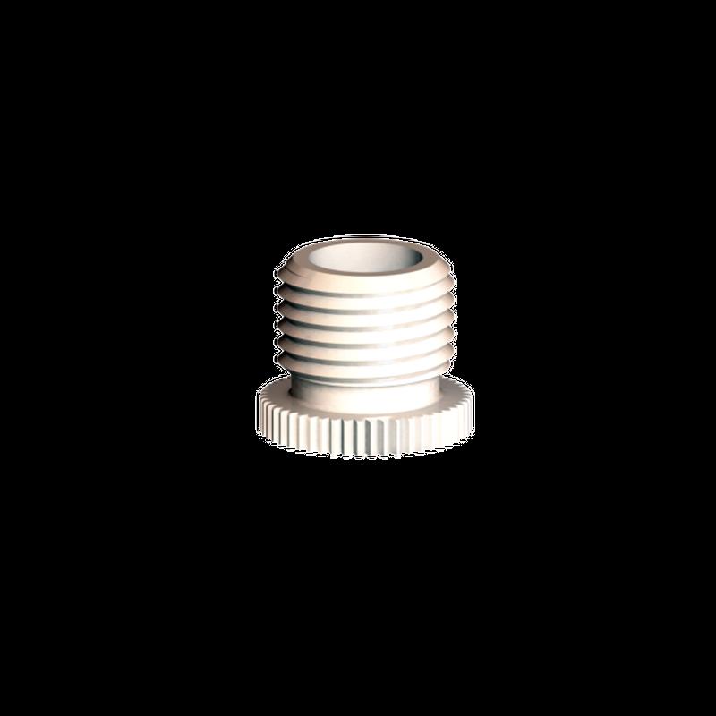 Kappe M10x1, weiß