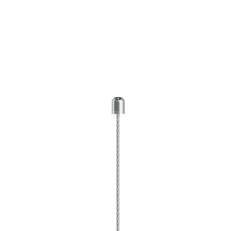 Drahtseil ø 2,0mm, mit abgerundetem Zylindernippel 5.0x6.5mm