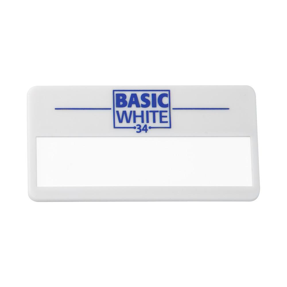 """Namensschild """"Basic Silver 40"""""""