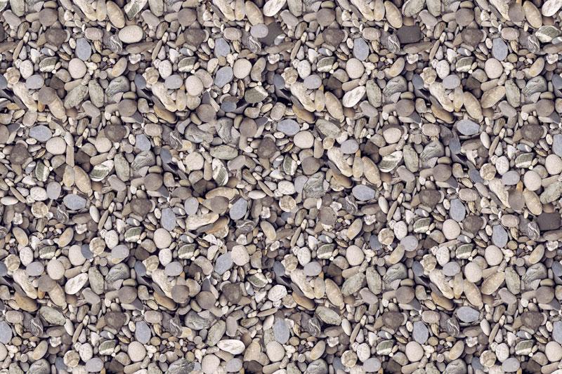 Messeteppich bedruckt Kieselstein