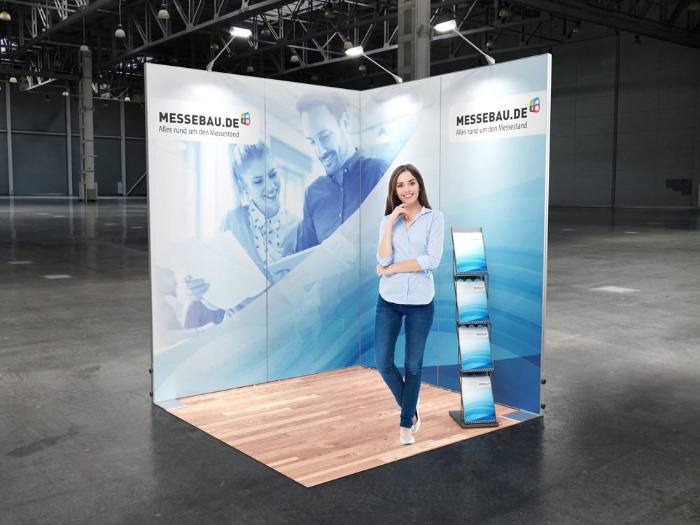 Octawall Messestand 2x2m Eckstand