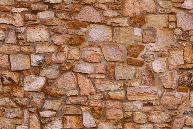 Messeteppich bedruckt Sandstein