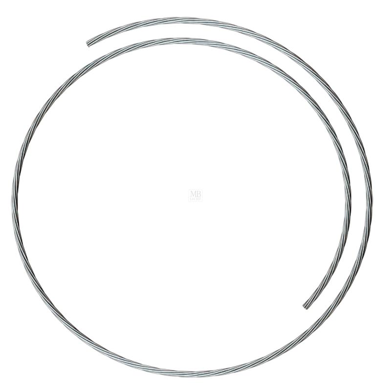 Drahtseil Ø1,5mm; 10 Meter aufgerollt