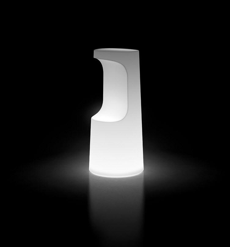 FURA STOOL LIGHT Barhocker