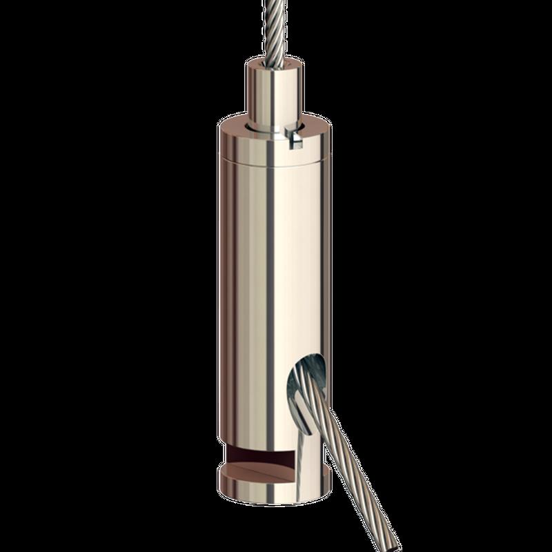 Drahtseilhalter Gripper 20 SE mit Einschnitt