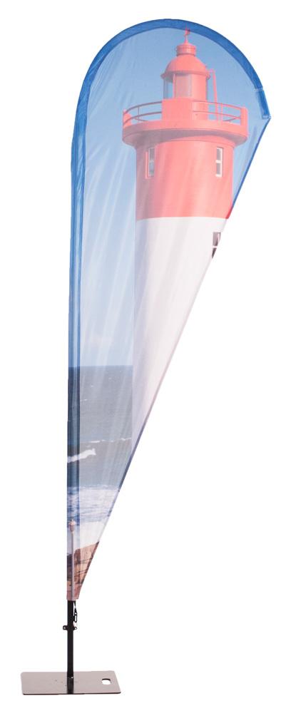 Beachflag Alu Drop