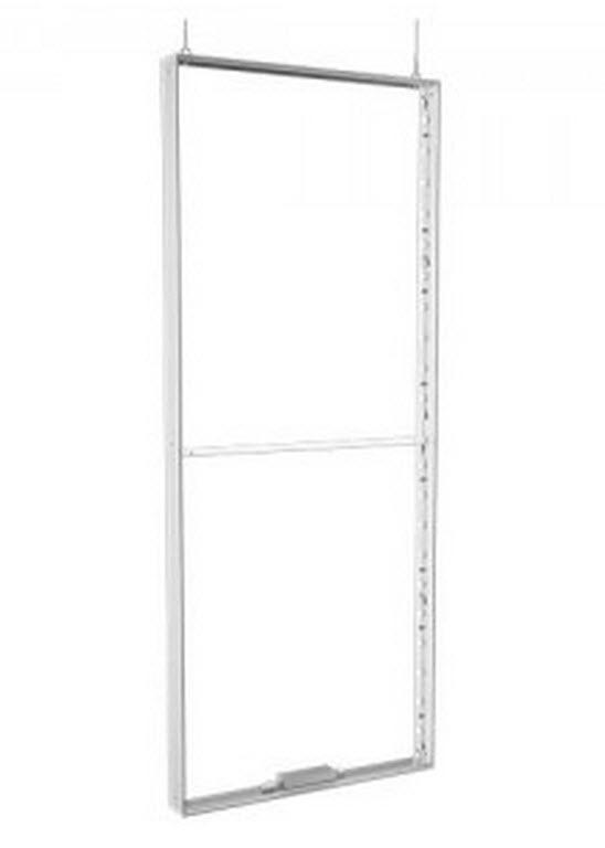 Leuchtwandelement 1000 x 2480mm zur vertikalen Abhängung