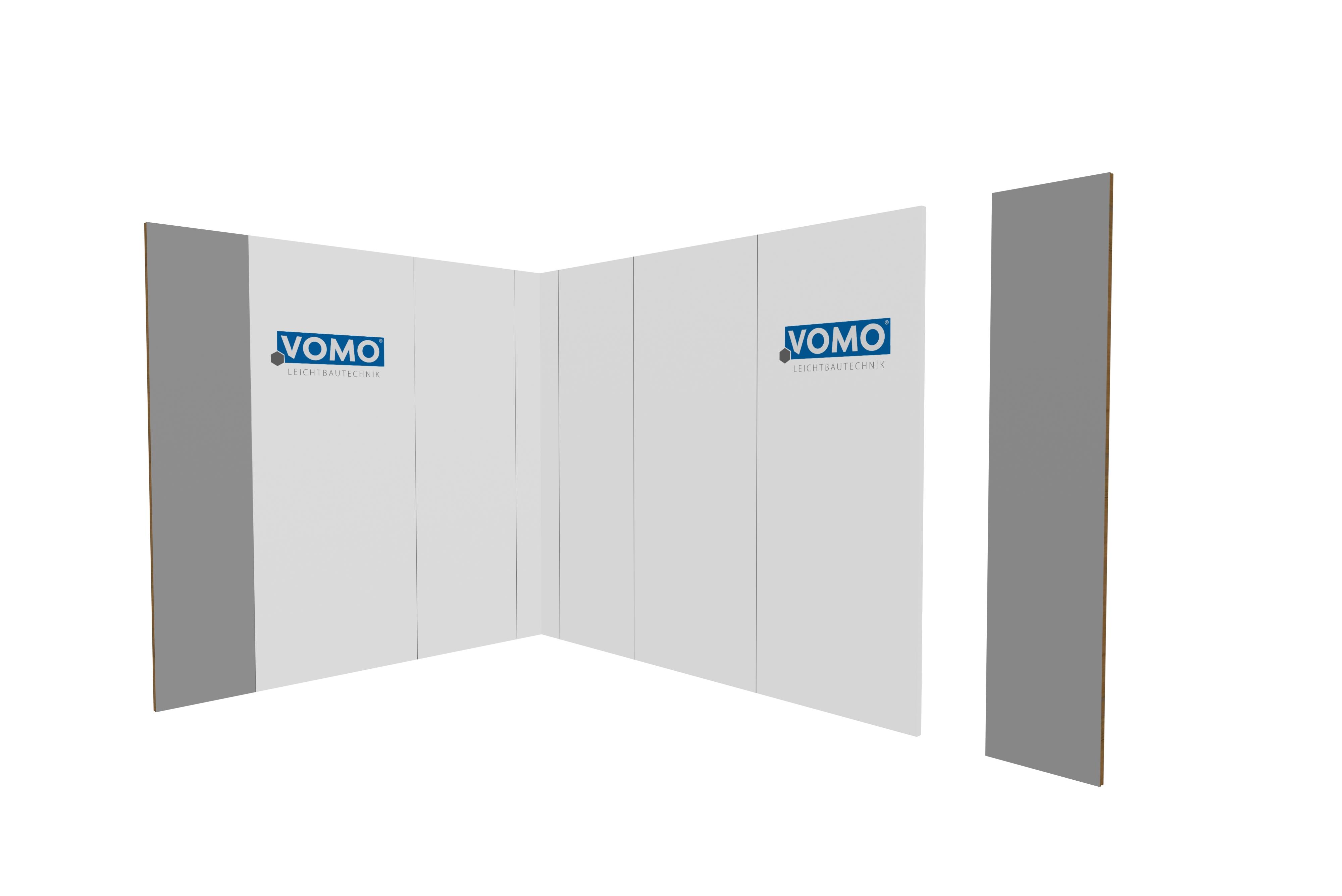 Messe Wandsystem Wandelement 500mm breit