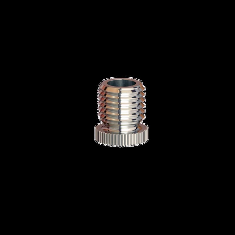 Kappe M8x1, vernickelt