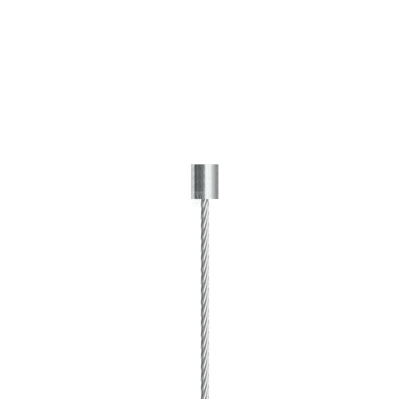 Drahtseil ø 1,0mm, mit Zylindernippel 4.8x6mm