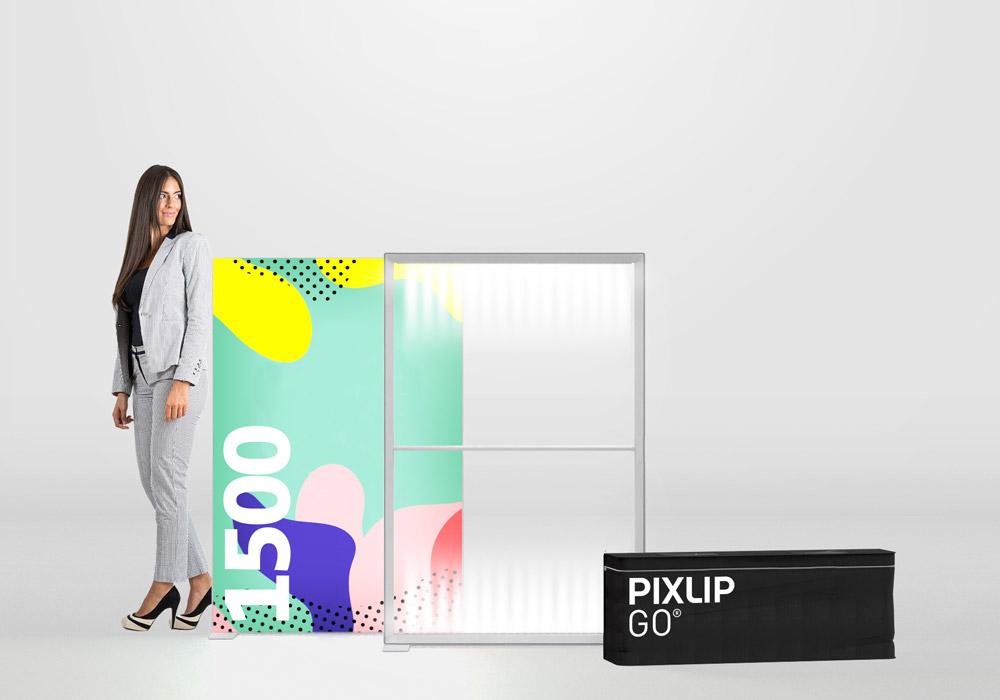 Pixlip Go Lightbox, Breite 100cm