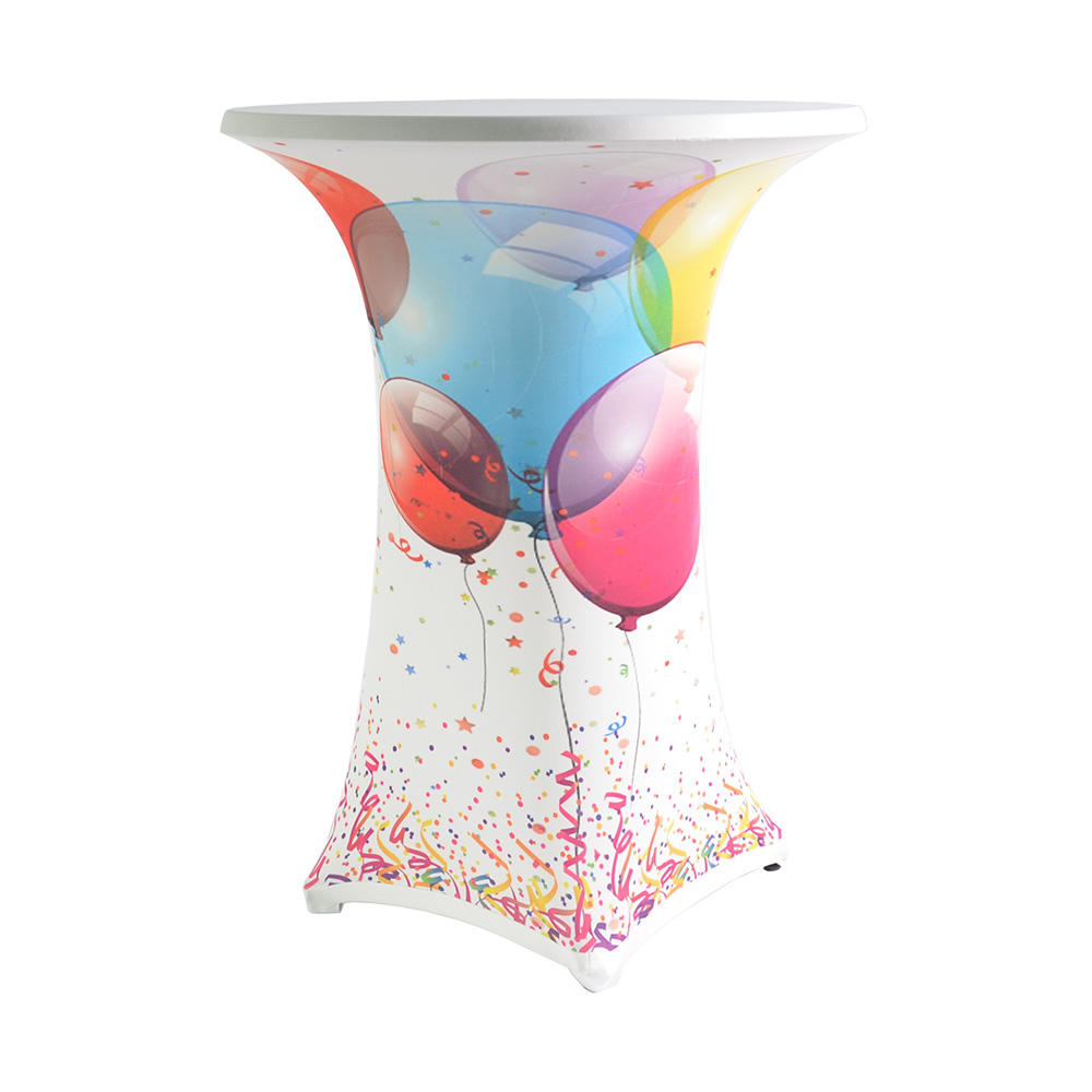 "Stehtischhusse ""Samba"" Motiv: Festballon, Ø 850 mm"