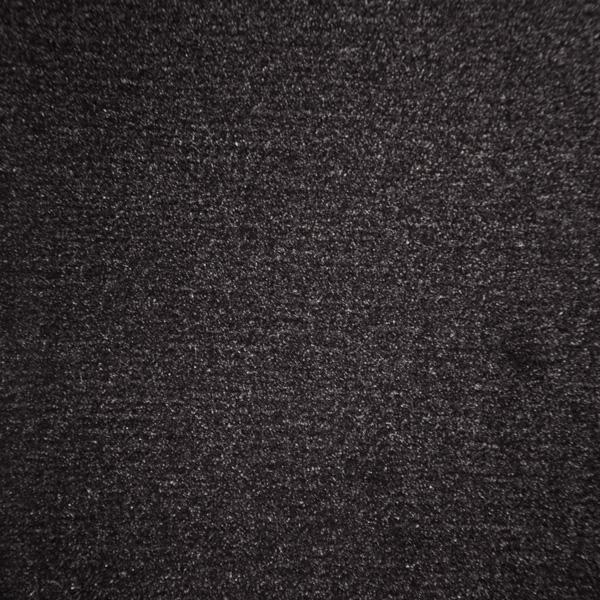 Velours Messeteppich Classic schwarz