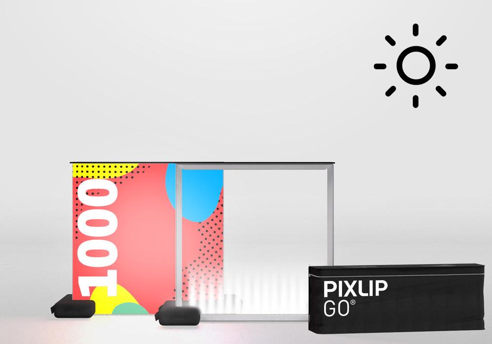 Pixlip Go LED Counter Outdoor