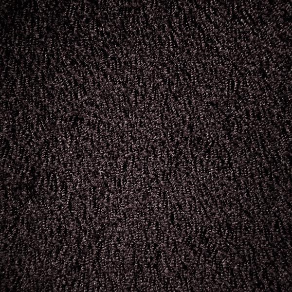 Hochflor Messeteppich Standard schwarz