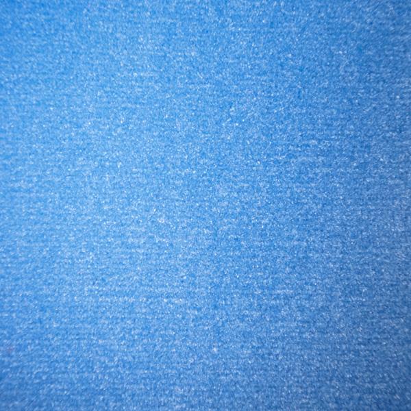 Velours Messeteppich Classic hellblau