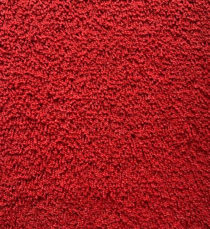 Hochflor Messeteppich Standard rot
