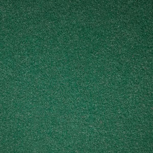 Velours Messeteppich Budget dunkelgrün