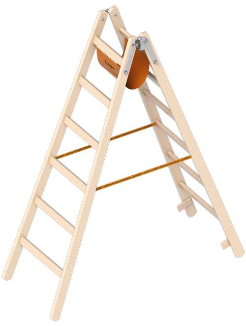 Holzstehleiter 1038