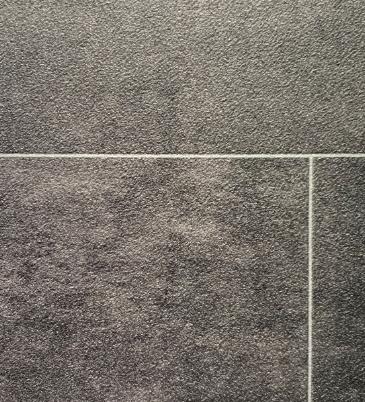Vinyl Stein steinfliese graphit 890
