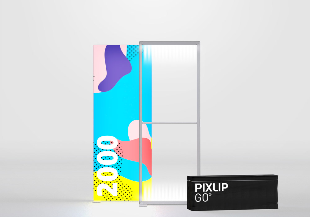 Pixlip Go Lightbox, Breite 85cm