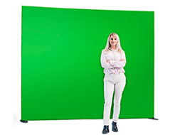 Mobiler Greenscreen