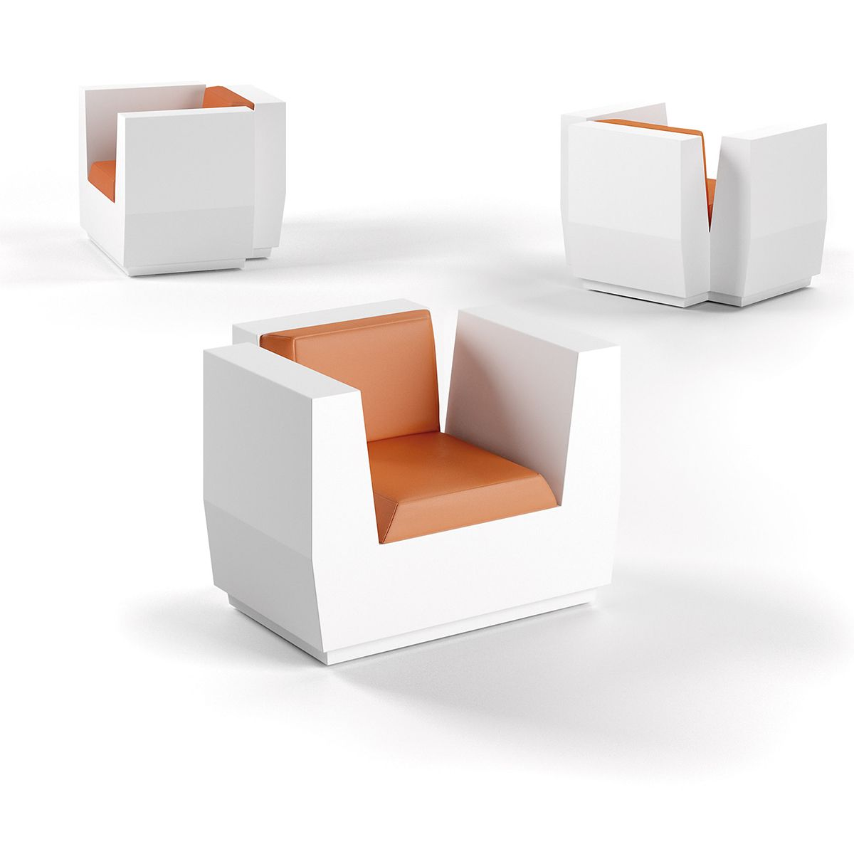 Big Cut Armchair Lounge Sessel