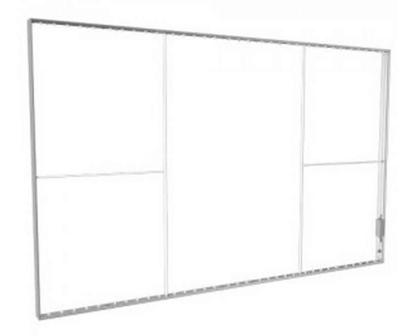 Leuchtwandelement 4000 x 2480 mm ohne Fussplatten