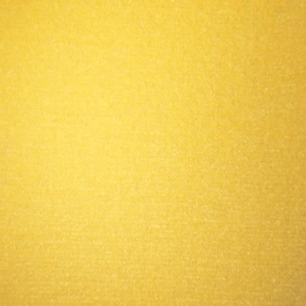 Velours Messeteppich Classic gelb