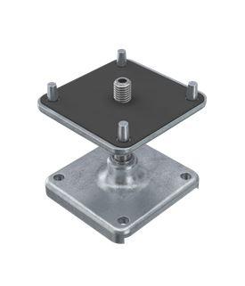 OctaClassic Floor Hebefuss klein 55-105mm