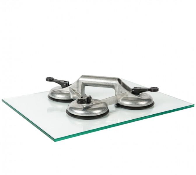 Veribor® 3-Kopf Saugheber Aluminium