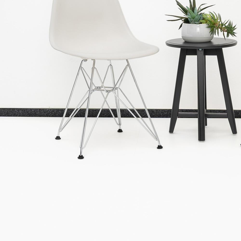 Laminat weiß matt ohne Fuge - XL Format