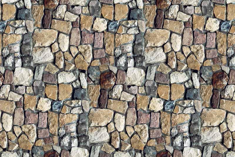 Messeteppich bedruckt Naturstein