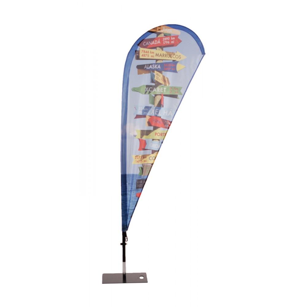 Beachflag Fiber Wind/Drop